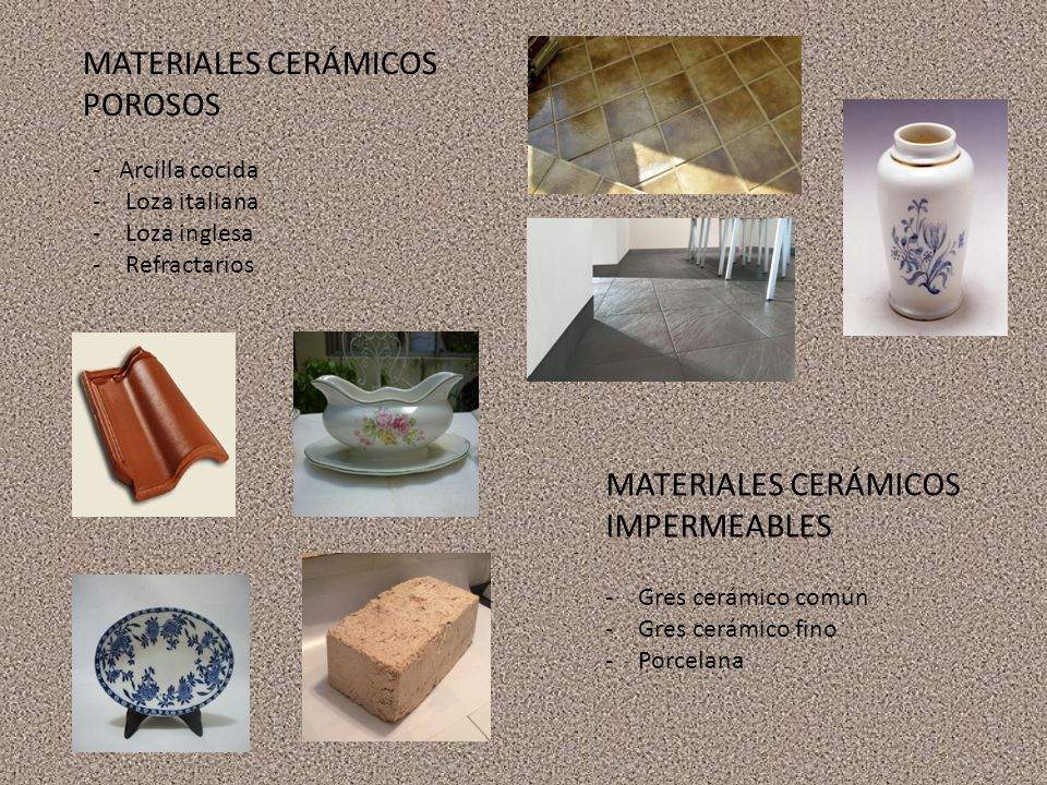 MATERIALES CERÁMICOS POROSOS