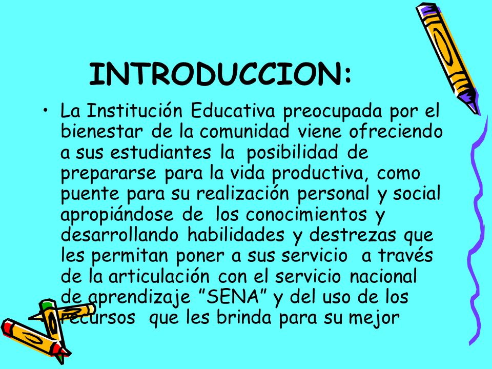 INTRODUCCION: