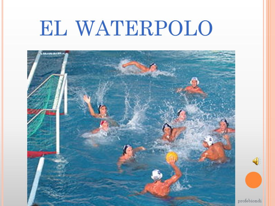 EL WATERPOLO profebiondi