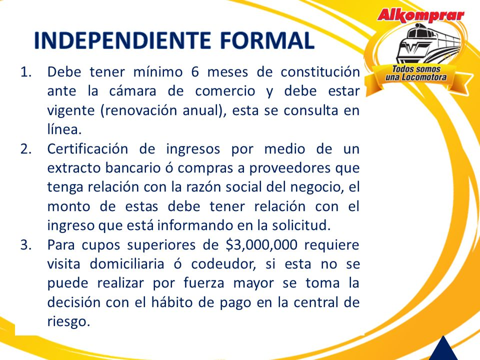INDEPENDIENTE FORMAL