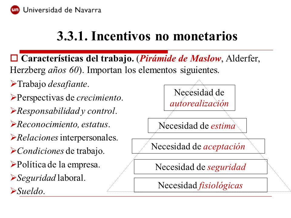 Incentivos no monetarios