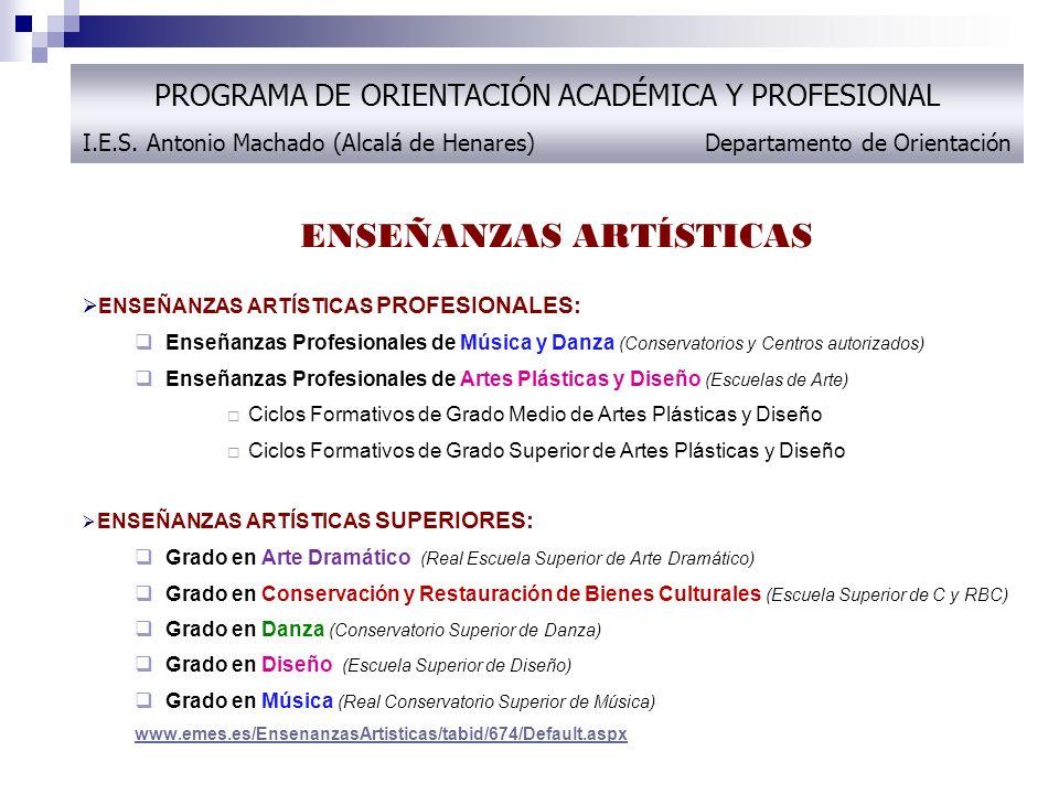Programa De Orientación Académica Y Profesional 2º