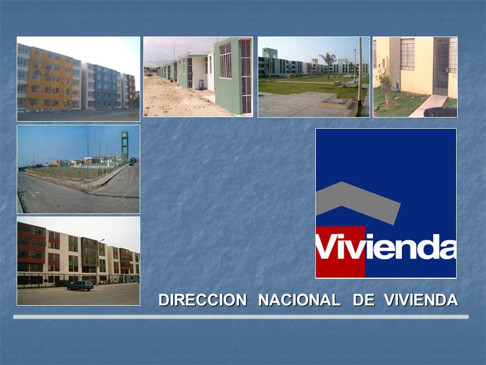 DIRECCION NACIONAL DE VIVIENDA - ppt descargar
