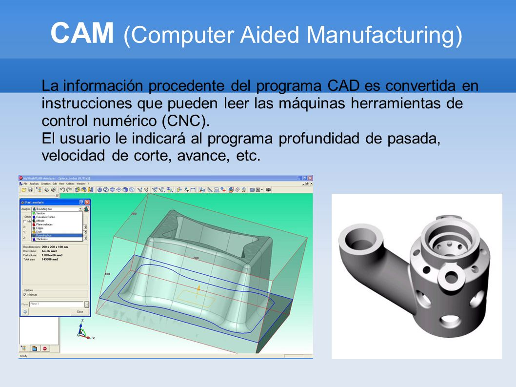 CAM (Computer Aided Manufacturing)