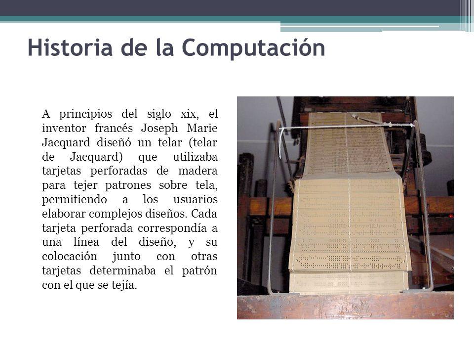 Historia de la Computación - ppt descargar