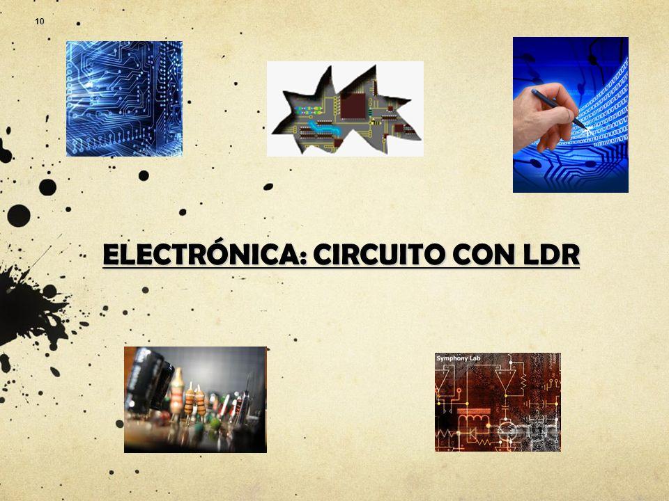 Circuito Ldr : Calle circuito de luz con ldr paso reunir todas las piezas