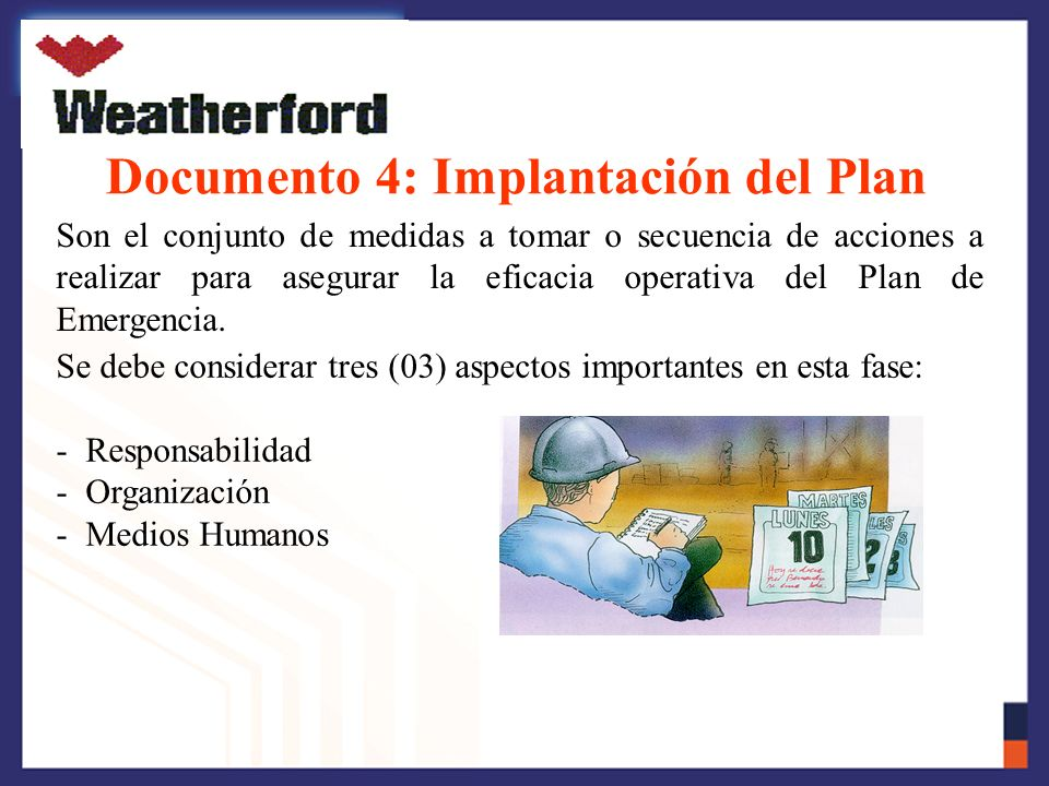 Documento 4: Implantación del Plan