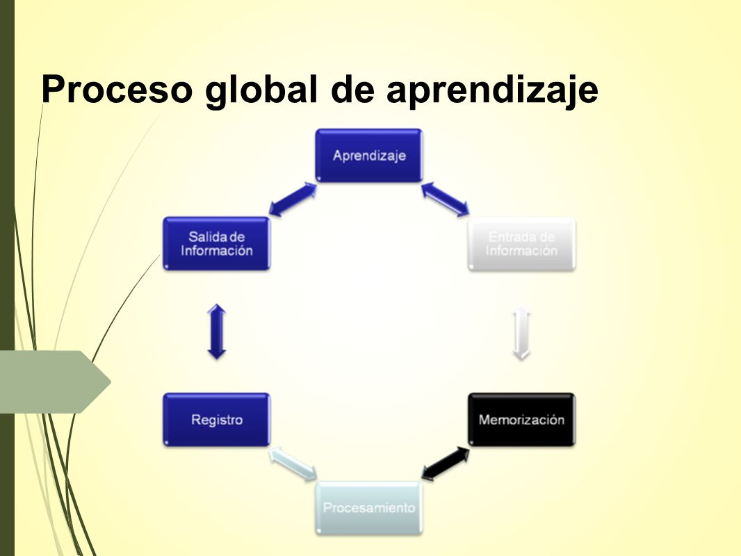 Proceso global de aprendizaje