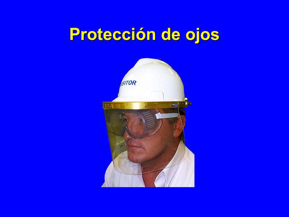 Protección de ojos See OSHA Fact Sheet 93-03, Eye Protection in the Workplace. WHAT CONTRIBUTES TO EYE INJURIES AT WORK *