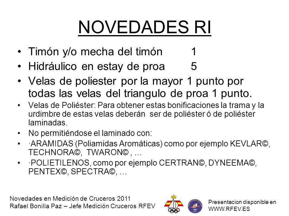 SIMPOSIOS DE HABILITACION 2011 NOVEDADES EN MEDICION DE CRUCEROS ppt ...