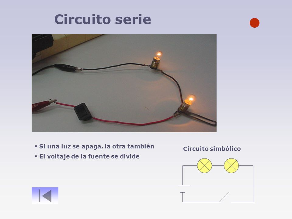 Circuito Serie : Electricidad componentes circuito simple multímetro circuito serie