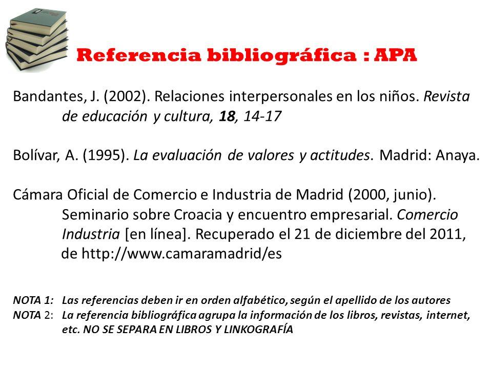 Referencias Apa Revistas Madrid Org Salud