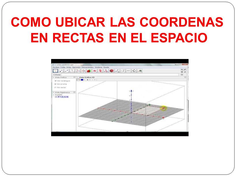 RECTAS EN EL ESPACIO OBLICUAS Y COPLANARES - ppt video