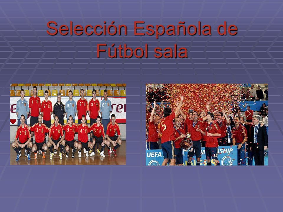 F tbol sala ppt descargar for Federacion espanola de futbol sala