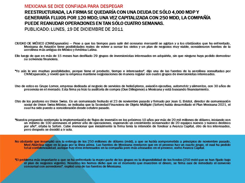 Mexicana de Aviación Escamilla Sampayo Maleny Espino Hernandéz ...
