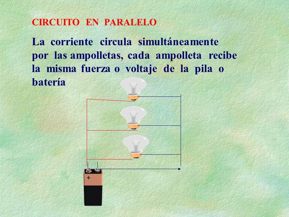 Circuito En Paralelo : Con los circuitos electricos ppt descargar
