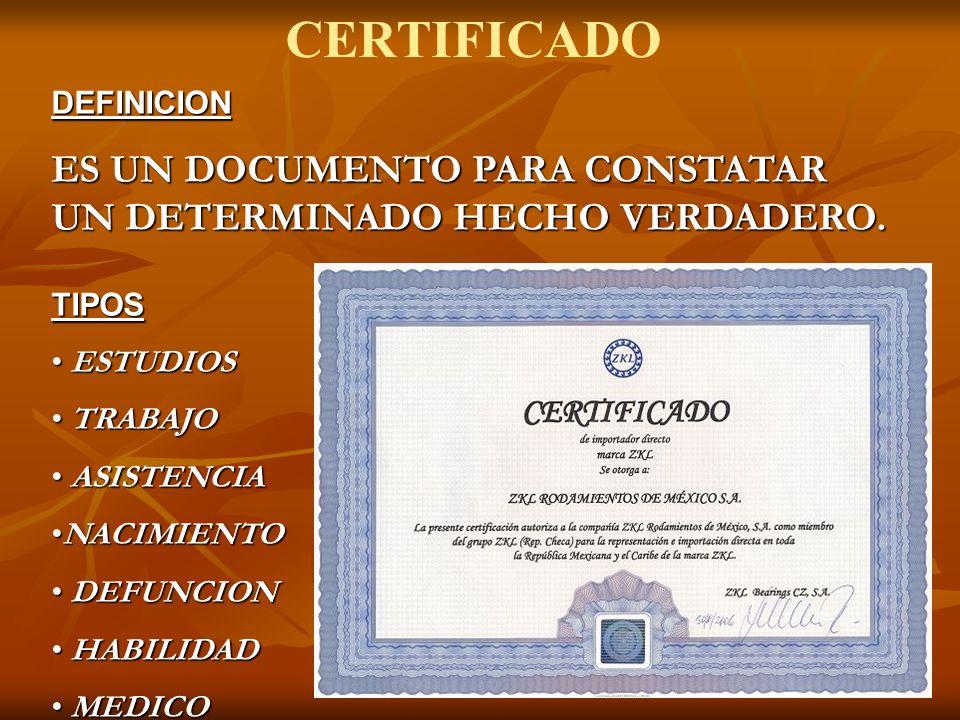 CERTIFICADO DEFUNCION - ppt video online descargar