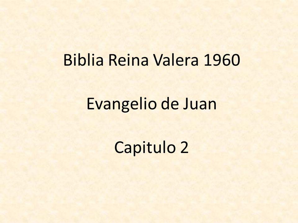 Matrimonio En La Biblia Reina Valera : Biblia reina valera evangelio de juan capitulo