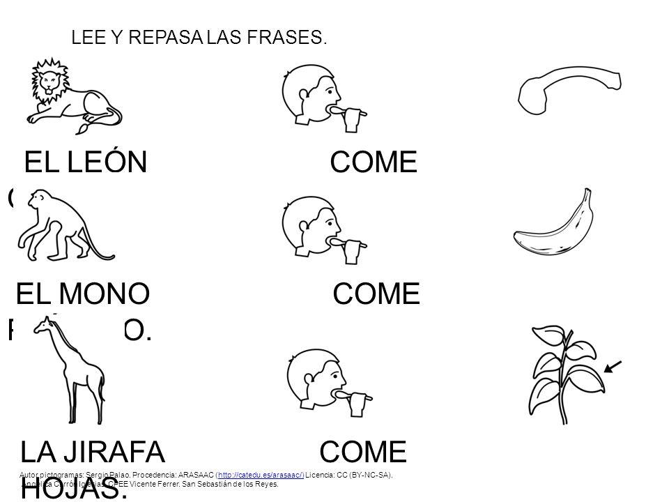 ANIMALES Autor pictogramas: Sergio Palao. Procedencia: ARASAAC ...