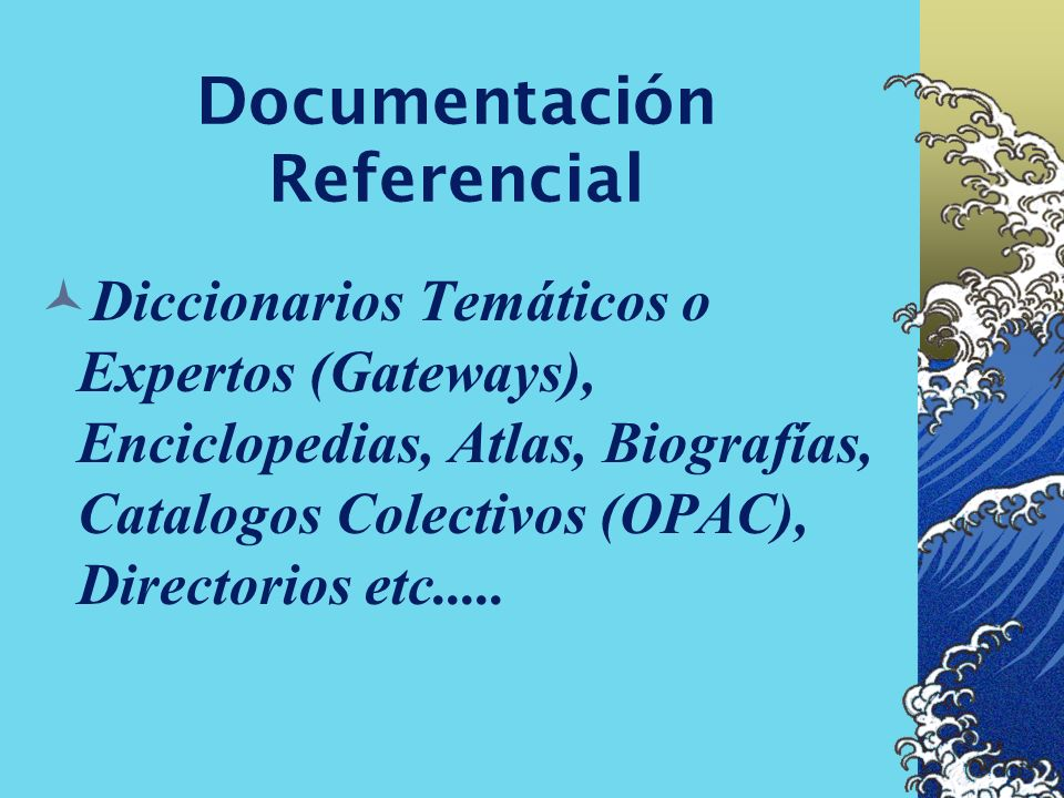Documentación Referencial