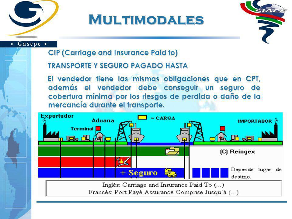 Multimodales CIP (Carriage and Insurance Paid to)