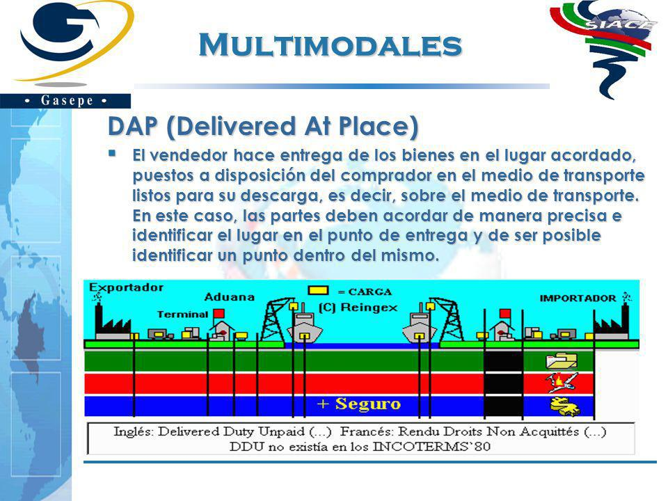 Multimodales DAP (Delivered At Place)