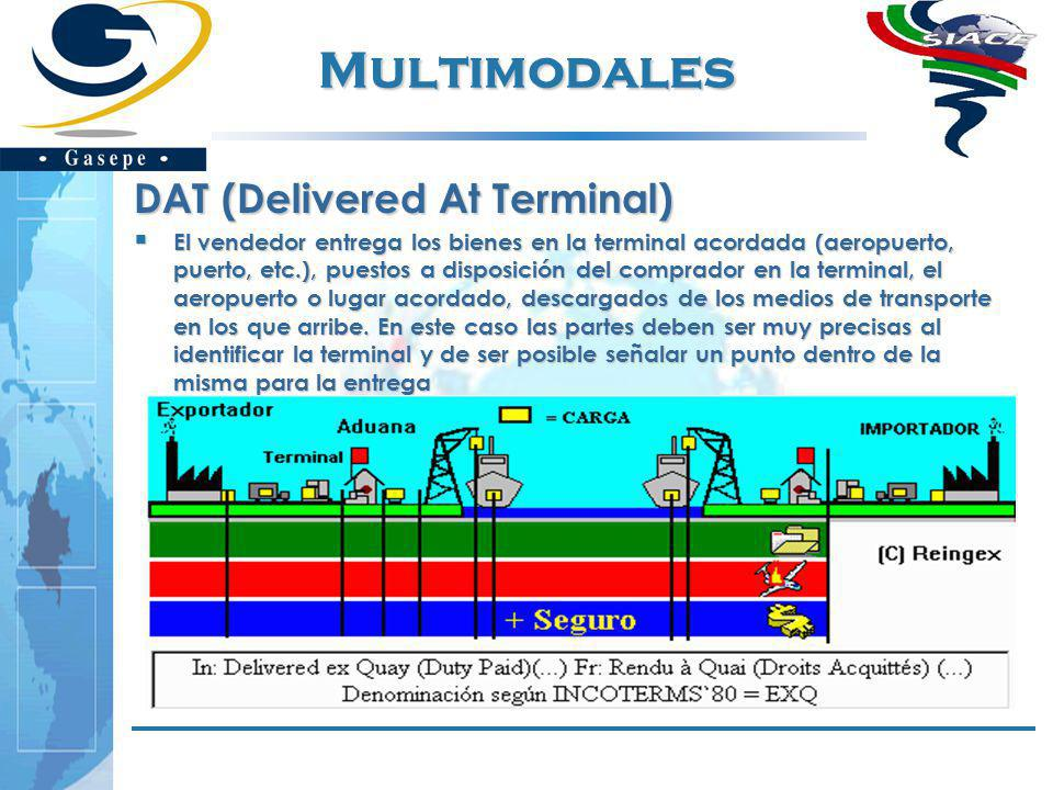 Multimodales DAT (Delivered At Terminal)