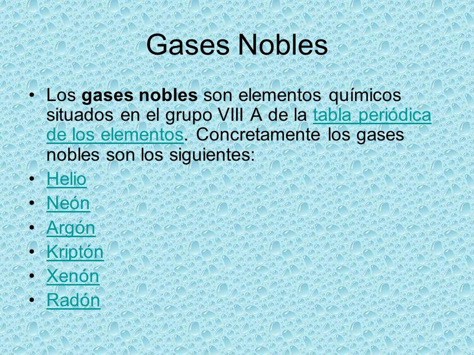 Gases nobles presentan carrizosa urias ahinoam alicia ppt descargar 2 gases urtaz Gallery