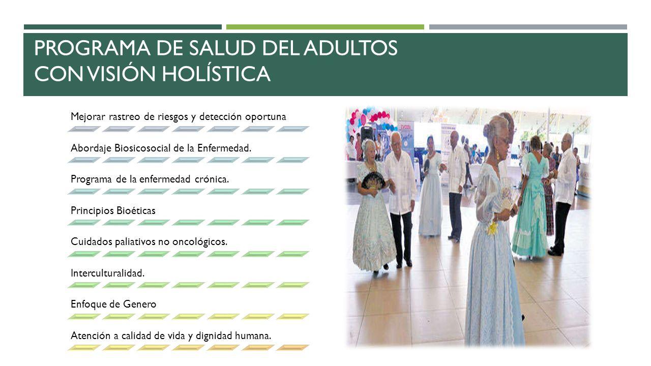 Programa de Salud del adulto - ppt video online descargar