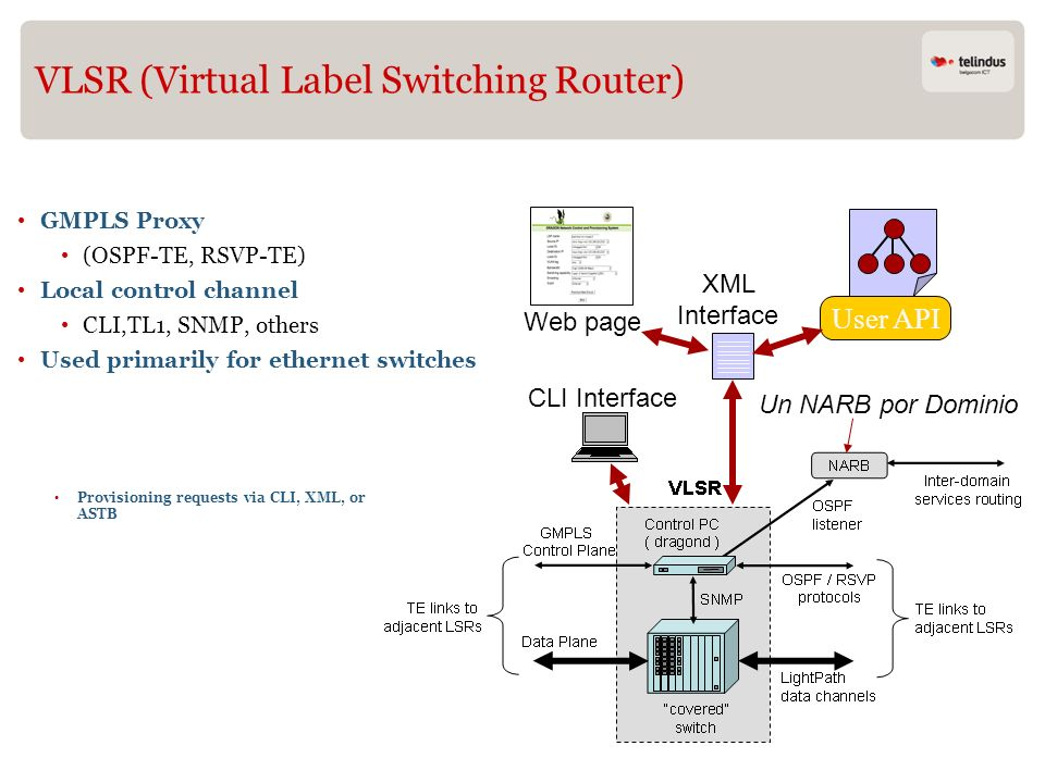 VLSR (Virtual Label Switching Router)