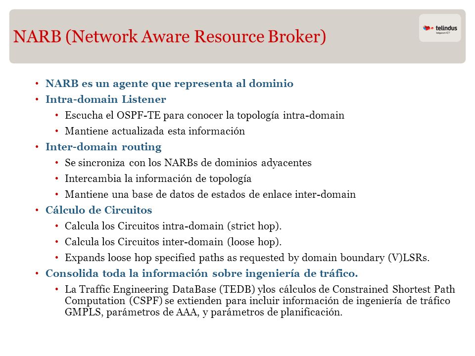 NARB (Network Aware Resource Broker)