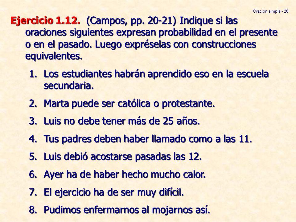 Sintaxis Española Avanzada Cuarta Parte Ppt Video Online