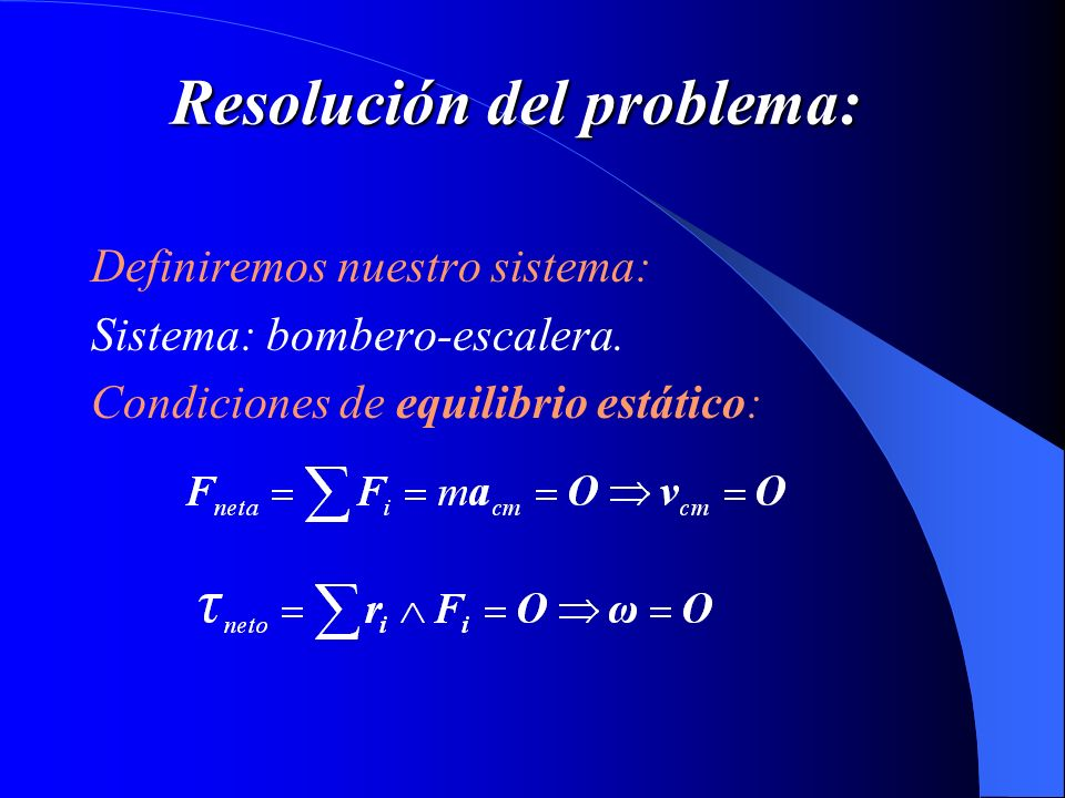 Resolución del problema:
