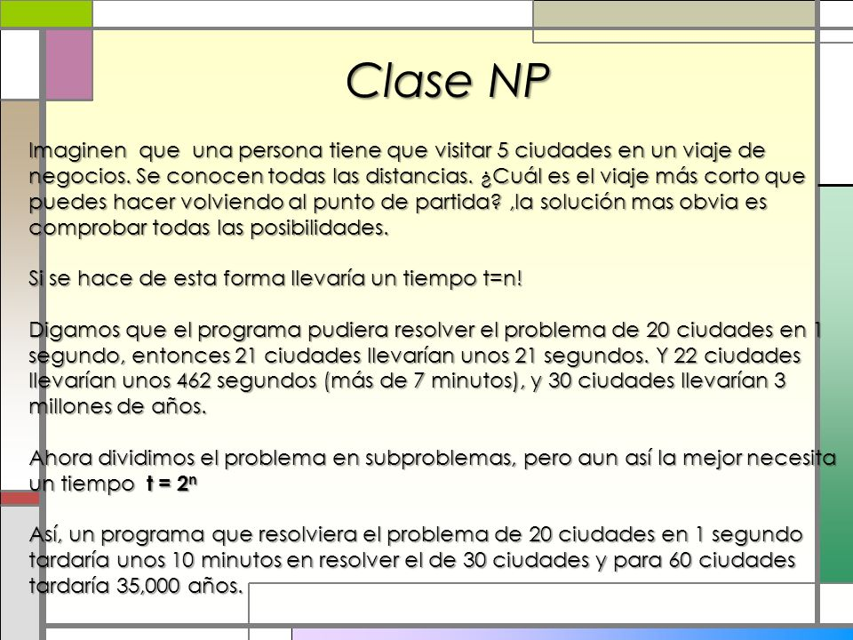 Clase NP