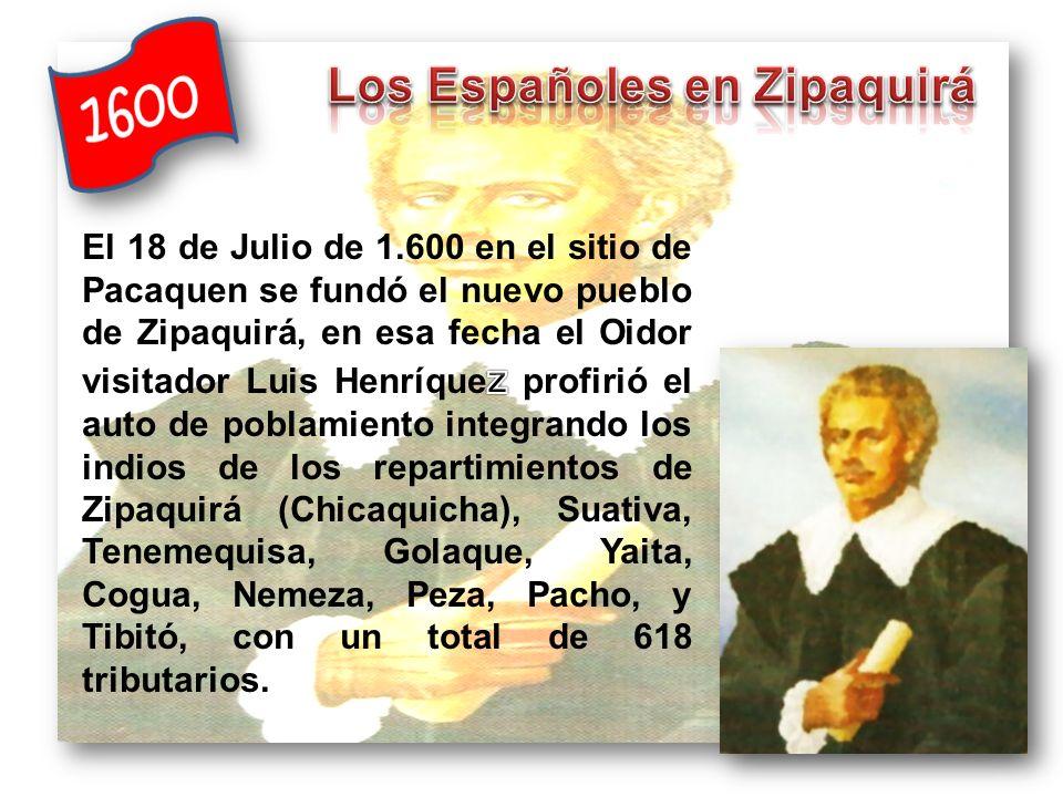 Resultado de imagen para Fotos del oidor Luis Enríquez, fundador de Zipaquirá.