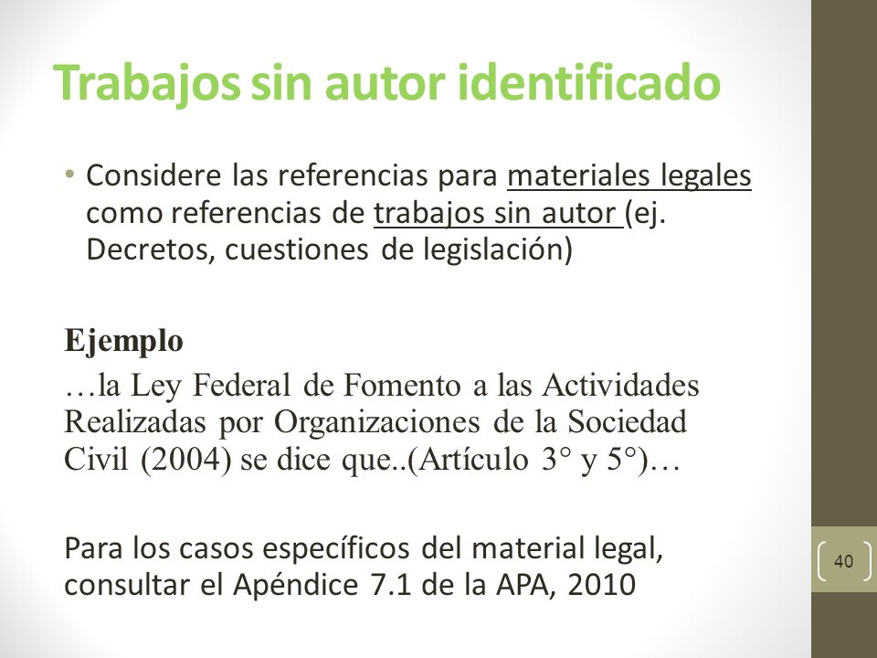 Manual De Publicaciones Apa 6ta Ed Ppt Descargar