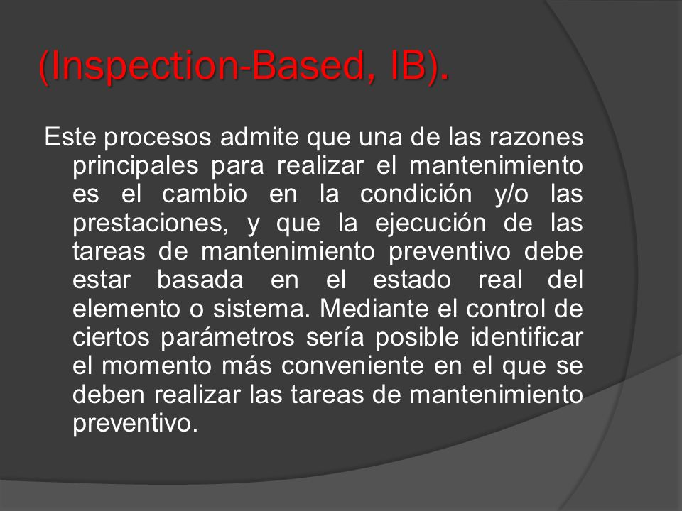 (Inspection-Based, IB).