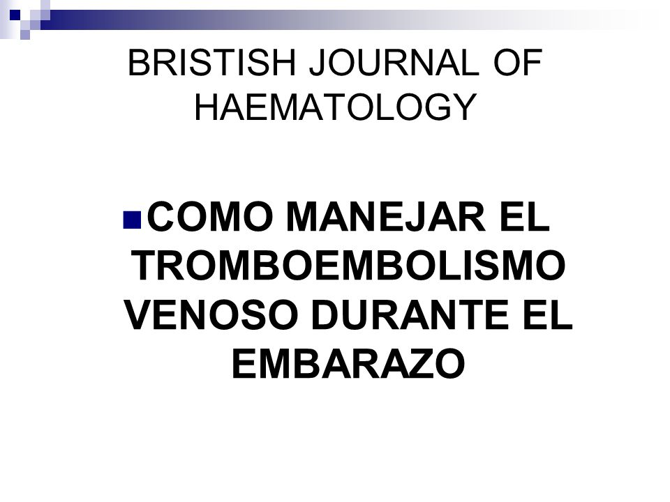 BRISTISH JOURNAL OF HAEMATOLOGY