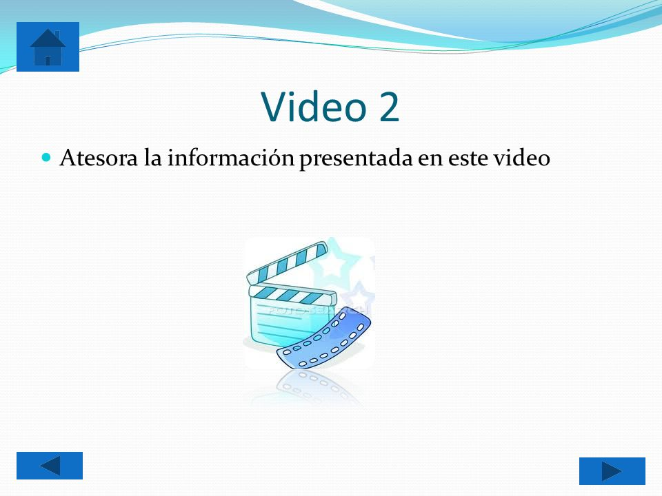 Video 2 Atesora la información presentada en este video
