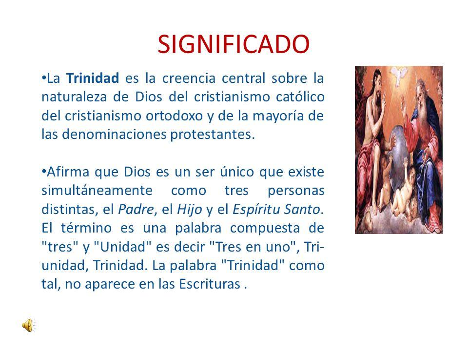 El Misterio De La Santisima Trinidad Ppt Descargar