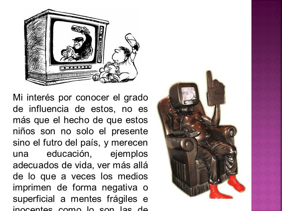 Influencia de la televisión en los niños de 5 a 7 años - ppt descargar