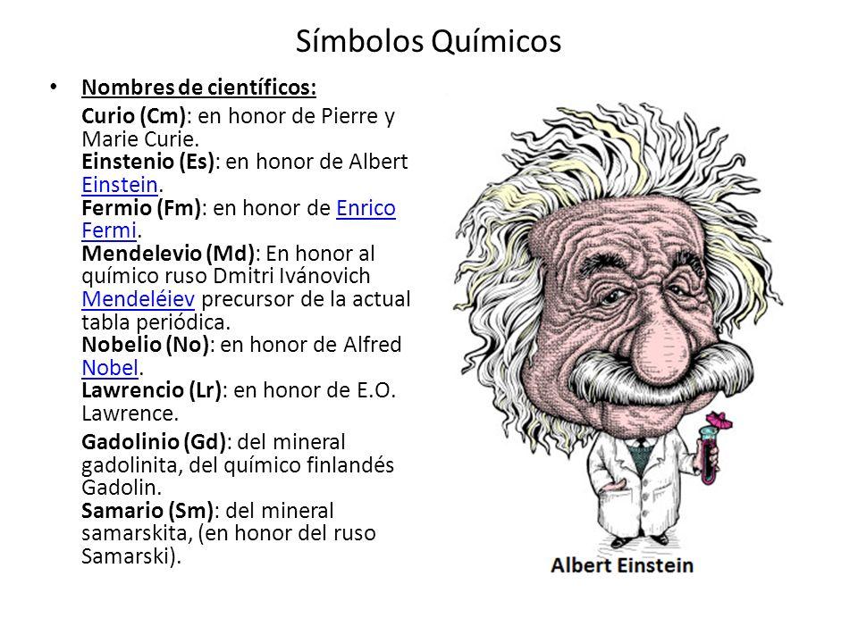 Smbolos qumicos los qumicos no han sido la excepcin ellos smbolos qumicos nombres de cientficos urtaz Choice Image