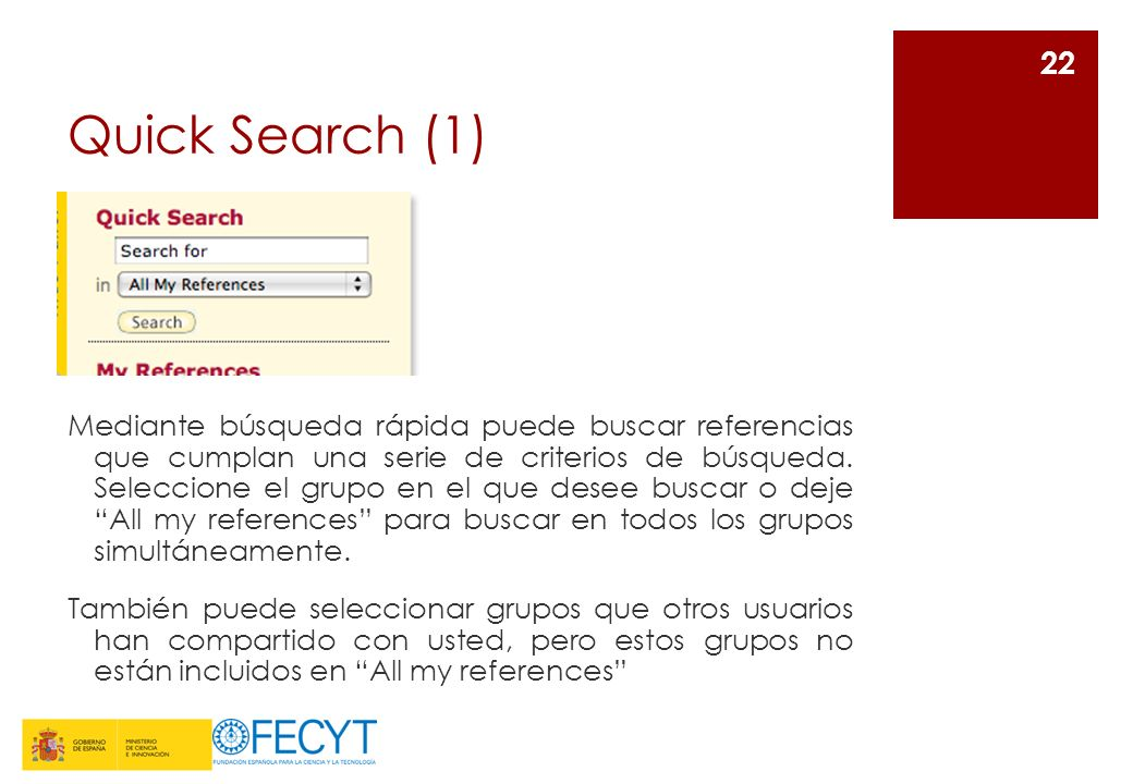 Quick Search (1)