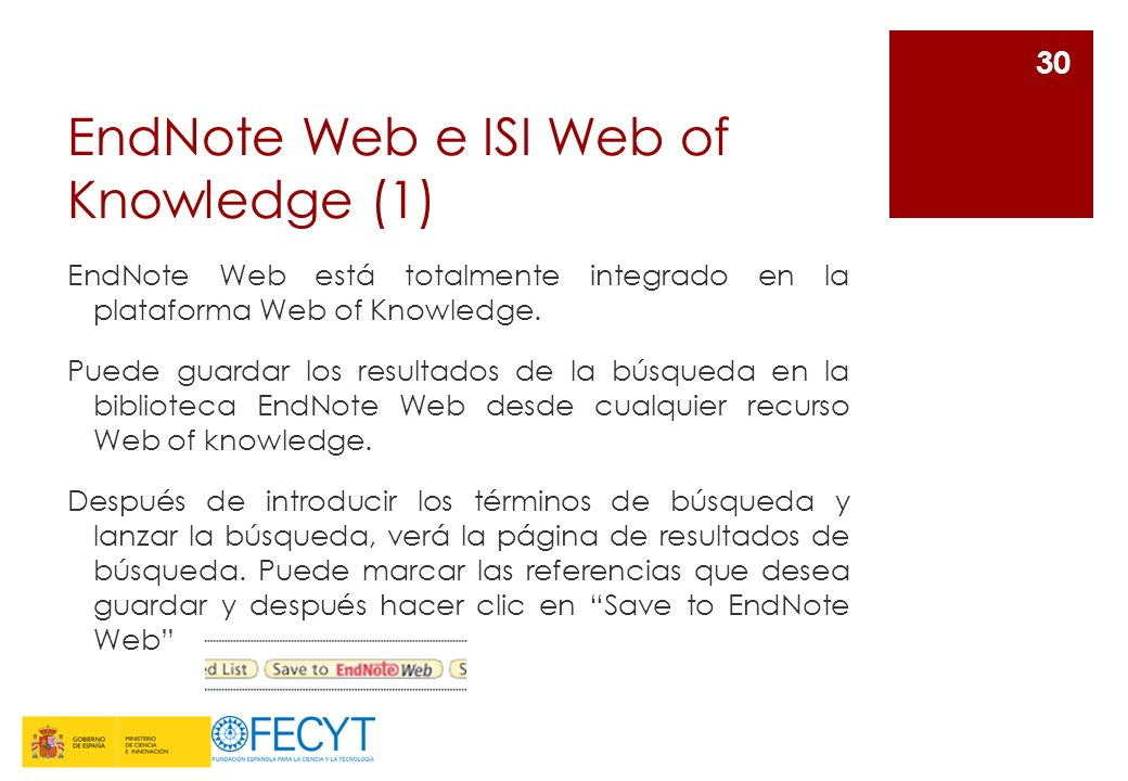 EndNote Web e ISI Web of Knowledge (1)