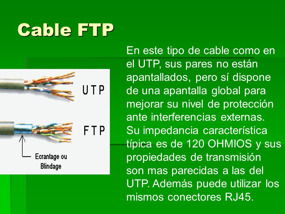 Cable FTP