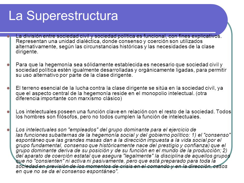 La Superestructura