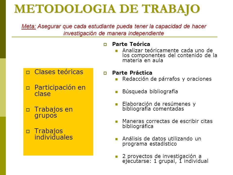 Materia Metodologias De Investigacion Forestal Ppt Video