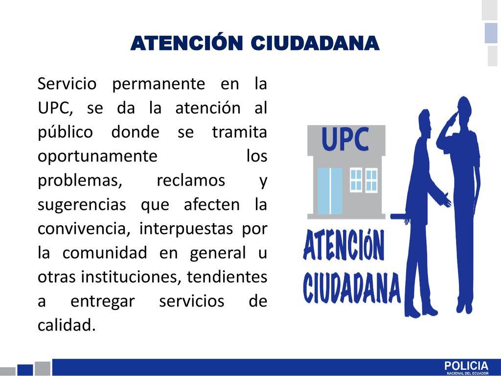 Portafolio De Servicios De La Policía Comunitaria Ppt