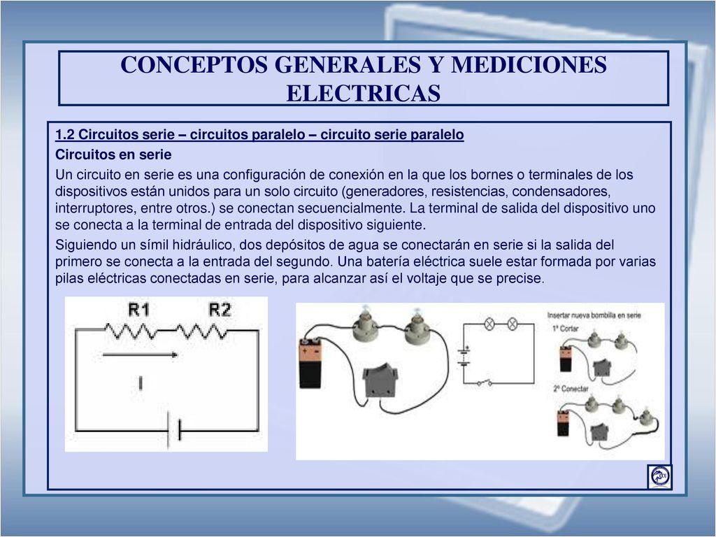 Circuito Seri E Paralelo : Electricidad y electronica industrial primera parte ppt descargar