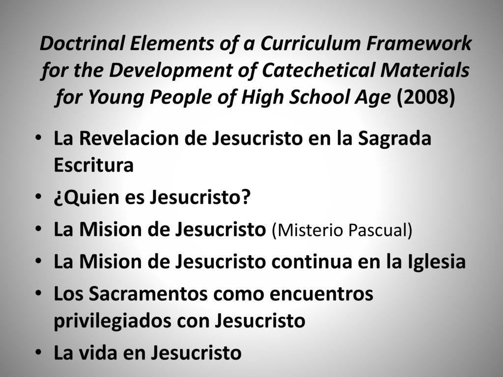 Arquidiócesis de Galveston-Houston Consultor de Curriculo ...